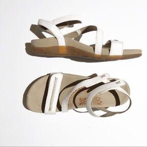 AETREX Gabby white strap sandal SZ40, US 9-9.5